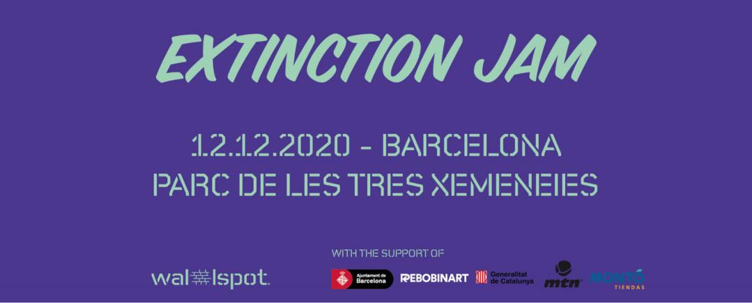 Wallspot Post - EXTINCTION JAM -BARCELONA