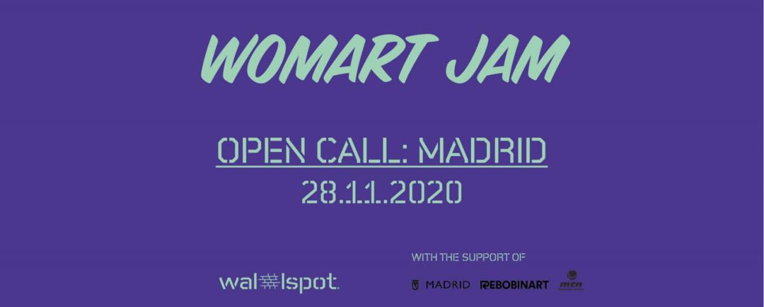 Wallspot Post - WOMART JAM - MADRID
