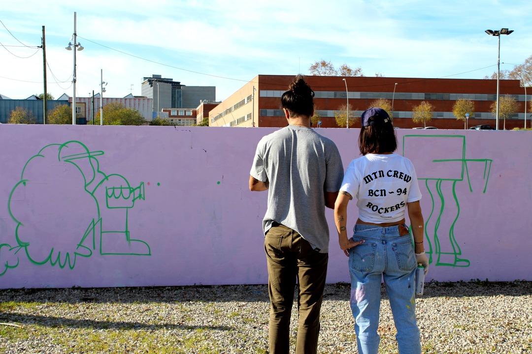 Wallspot Post - SPORT JAM at Parc de la Bederrida