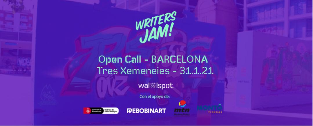 Wallspot Post - Writers JAM 2021