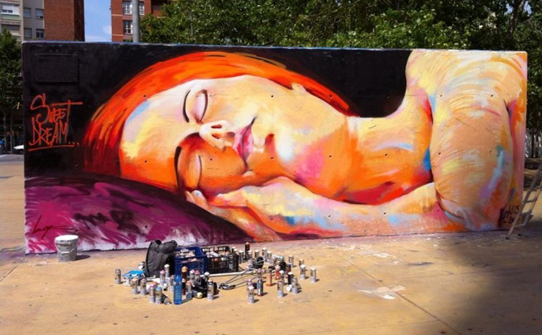 Wallspot - elmanu -  - Barcelona - Tres Xemeneies - Graffity - Legal Walls -