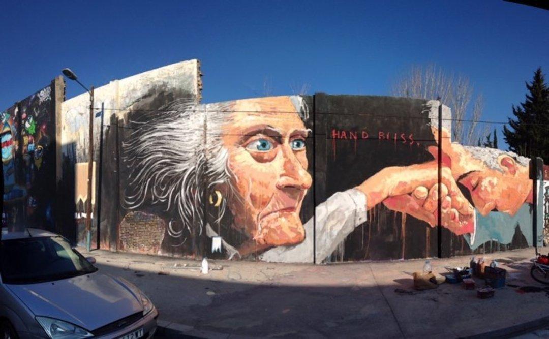 Wallspot - elmanu -  - Barcelona - Glòries Wall - Graffity - Legal Walls -