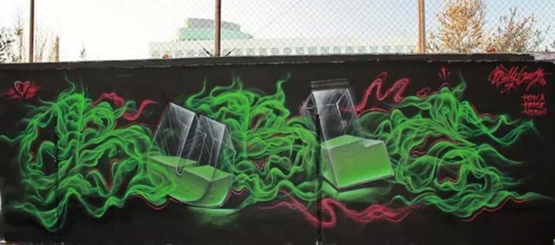 Wallspot - Bublegum -  - Barcelona - Agricultura - Graffity - Legal Walls - Letters