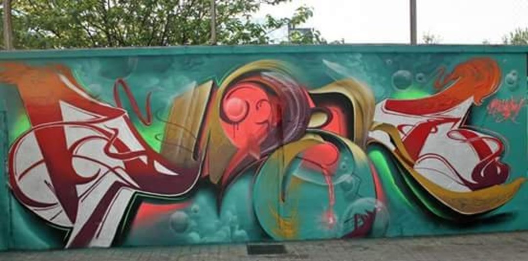 Wallspot - Bublegum -  - Barcelona - Agricultura - Graffity - Legal Walls - Letters