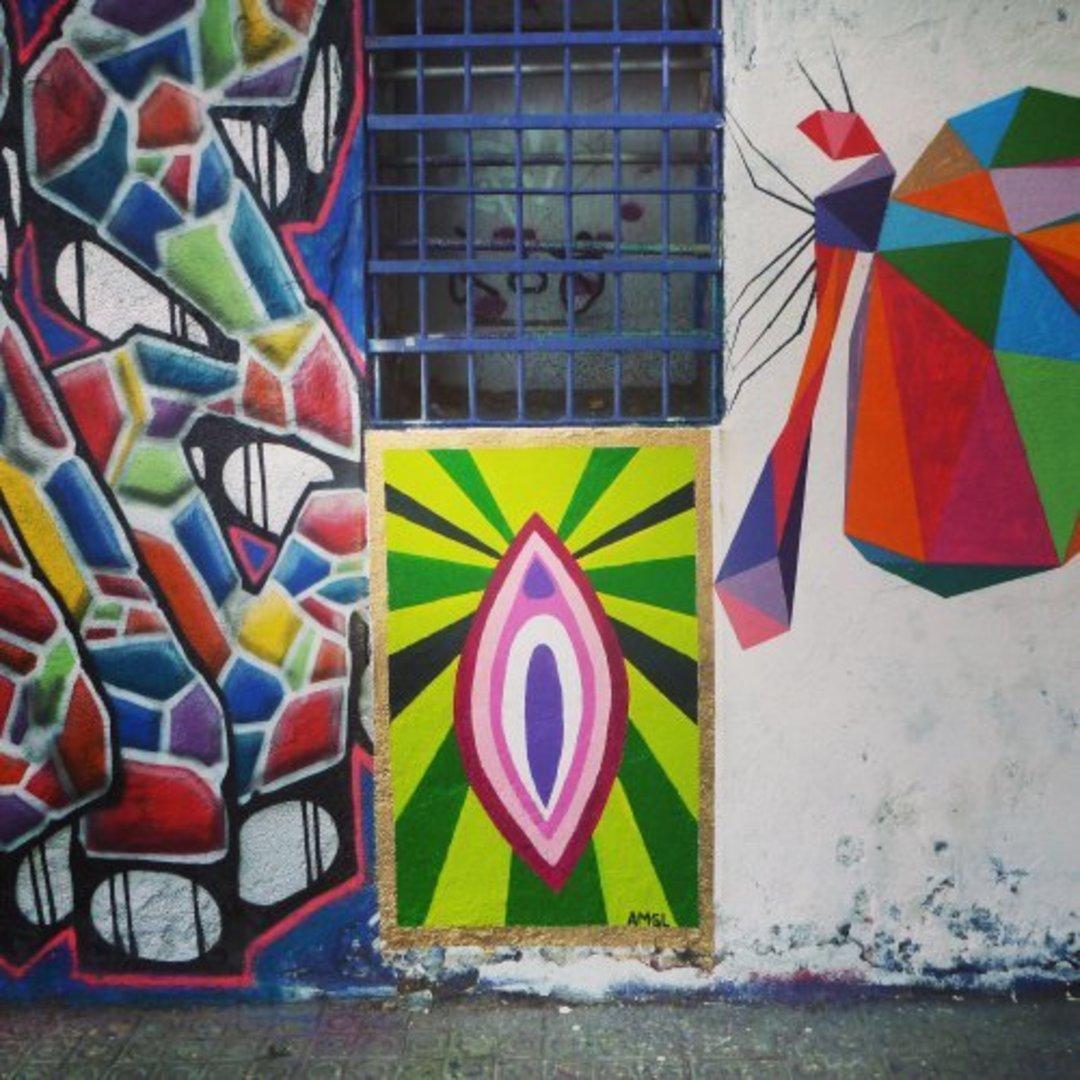 Wallspot - delasnueces -  - Barcelona - Western Town - Graffity - Legal Walls - Otros
