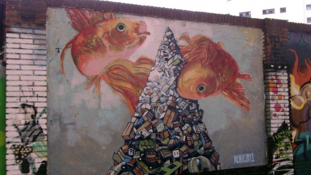 Wallspot - Rubicon1 -  - Barcelona - Selva de Mar - Graffity - Legal Walls -