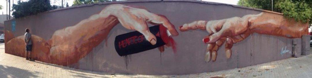Wallspot - elmanu -  - Barcelona - Agricultura - Graffity - Legal Walls - Il·lustració