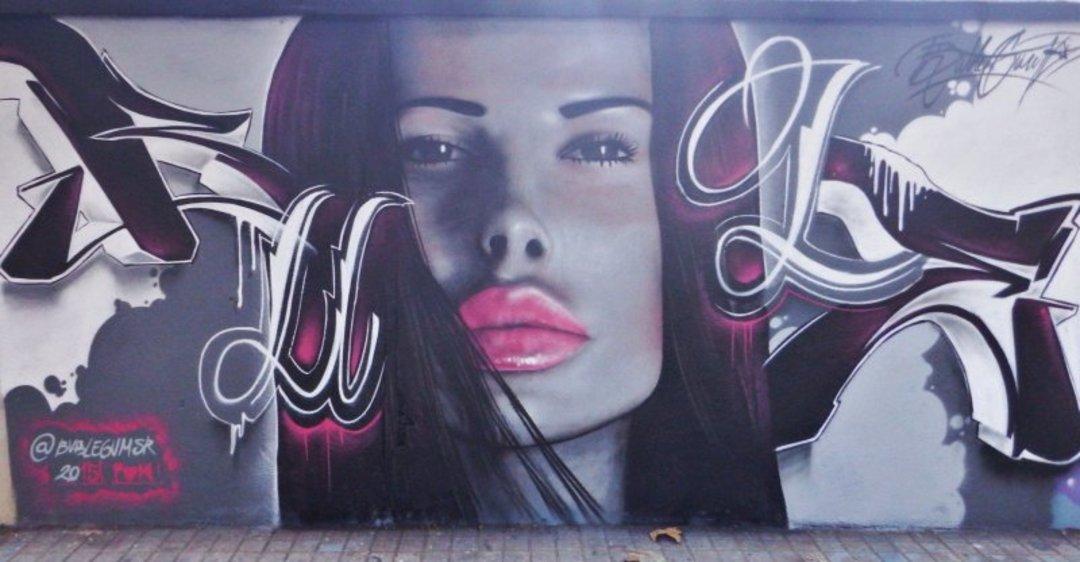 Wallspot - Bublegum -  - Barcelona - Agricultura - Graffity - Legal Walls - Letters, Others