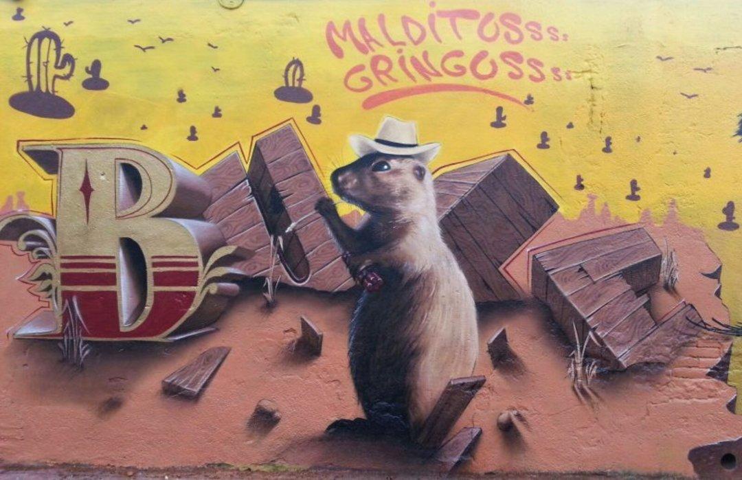 Wallspot - Bublegum -  - Barcelona - Selva de Mar - Graffity - Legal Walls - Letters, Illustration