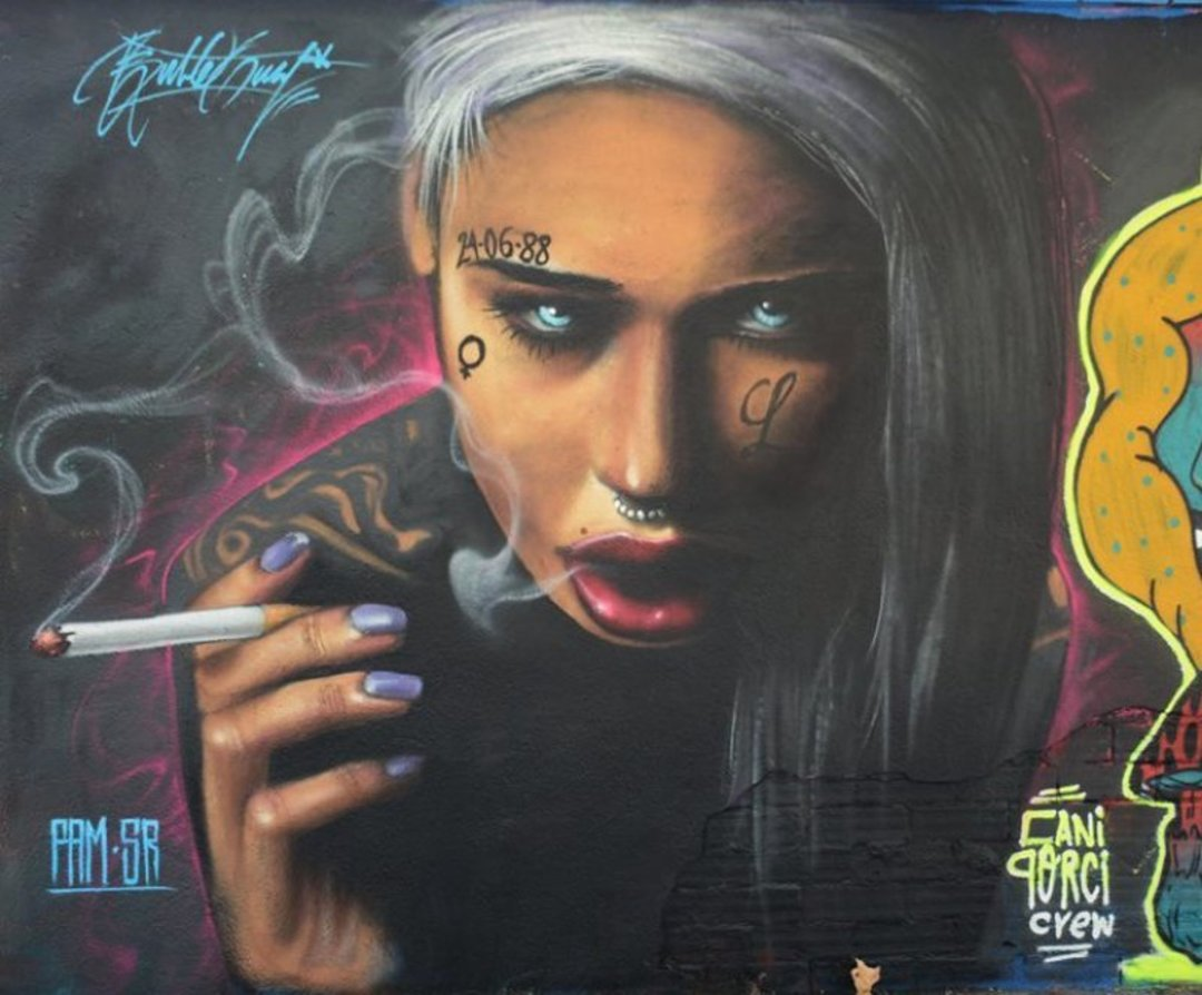 Wallspot - Bublegum -  - Barcelona - Agricultura - Graffity - Legal Walls - Illustration