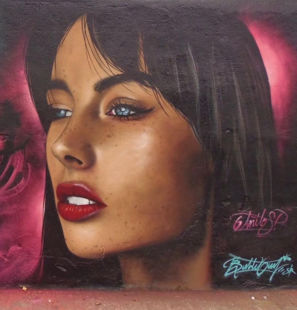 Wallspot - Bublegum - selva de mar - Barcelona - Selva de Mar - Graffity - Legal Walls - Illustration