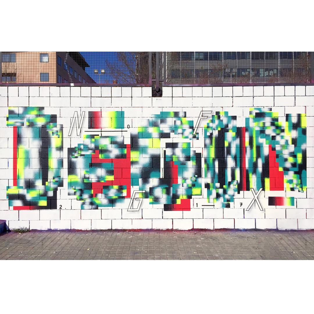 Wallspot - degon -  - Barcelona - Drassanes - Graffity - Legal Walls -