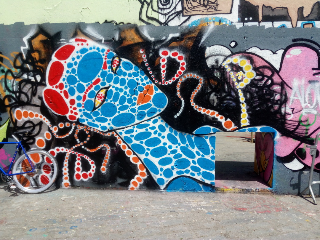 Wallspot - DALA @daliladuartedrd -  - Barcelona - Tres Xemeneies - Graffity - Legal Walls -