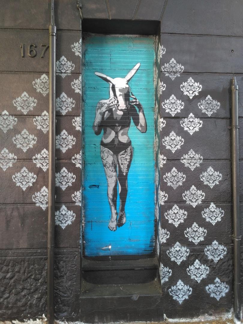 Wallspot - evalop - evalop - Proyecto 24/05/2017 - Barcelona - Western Town - Graffity - Legal Walls - Illustration - Artist - SM 172