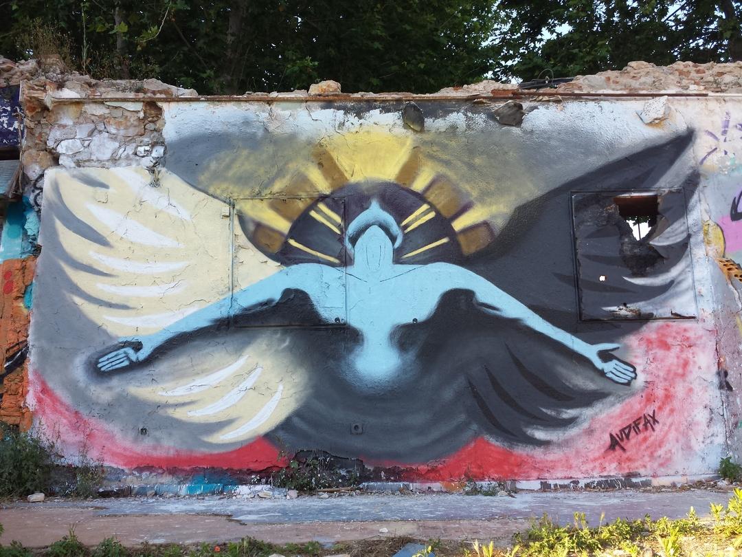 Wallspot - Audifax - Western Town - Audifax - Barcelona - Western Town - Graffity - Legal Walls - Il·lustració, Altres