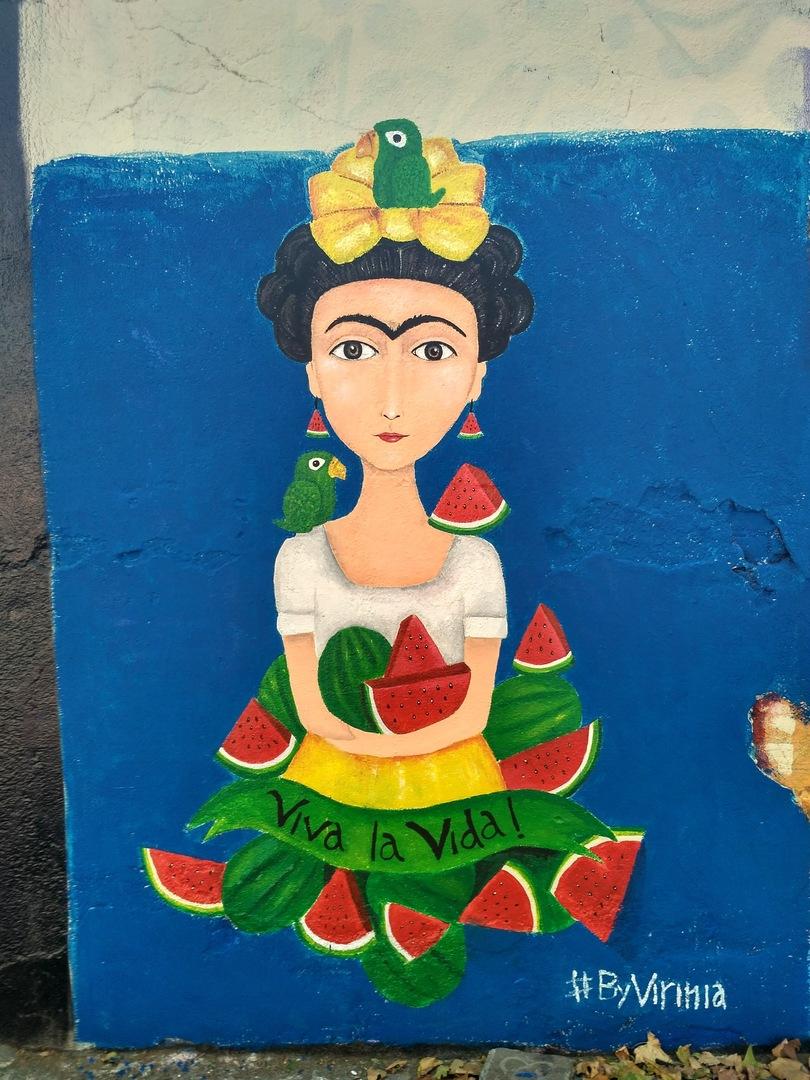 Wallspot - evalop - Varinia - Barcelona - Selva de Mar - Graffity - Legal Walls - Ilustración