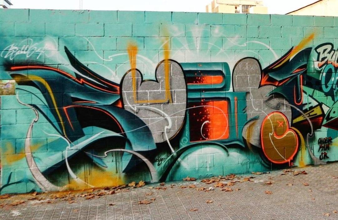 Wallspot - Bublegum - Poble Nou - Bublegum - Barcelona - Poble Nou - Graffity - Legal Walls - Letters