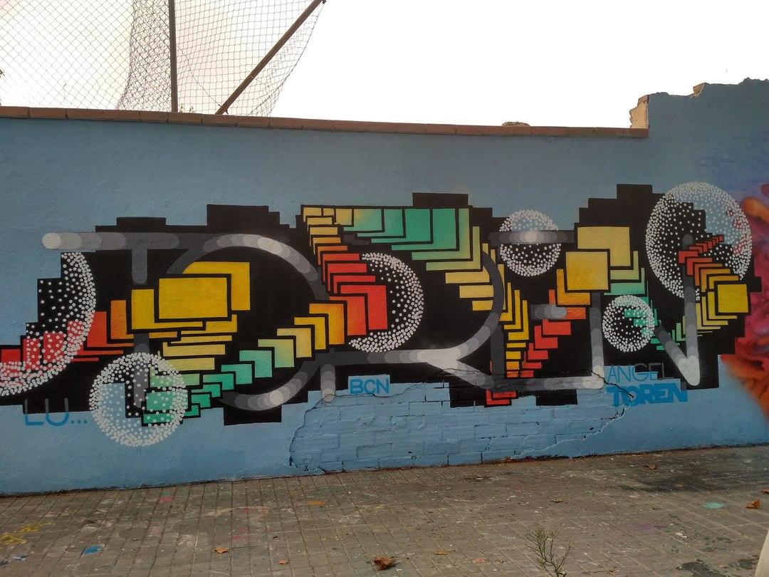 Wallspot - evalop - evalop - Projecte 07/09/2017 - Barcelona - Agricultura - Graffity - Legal Walls - Ilustración - Artist - Angeltoren