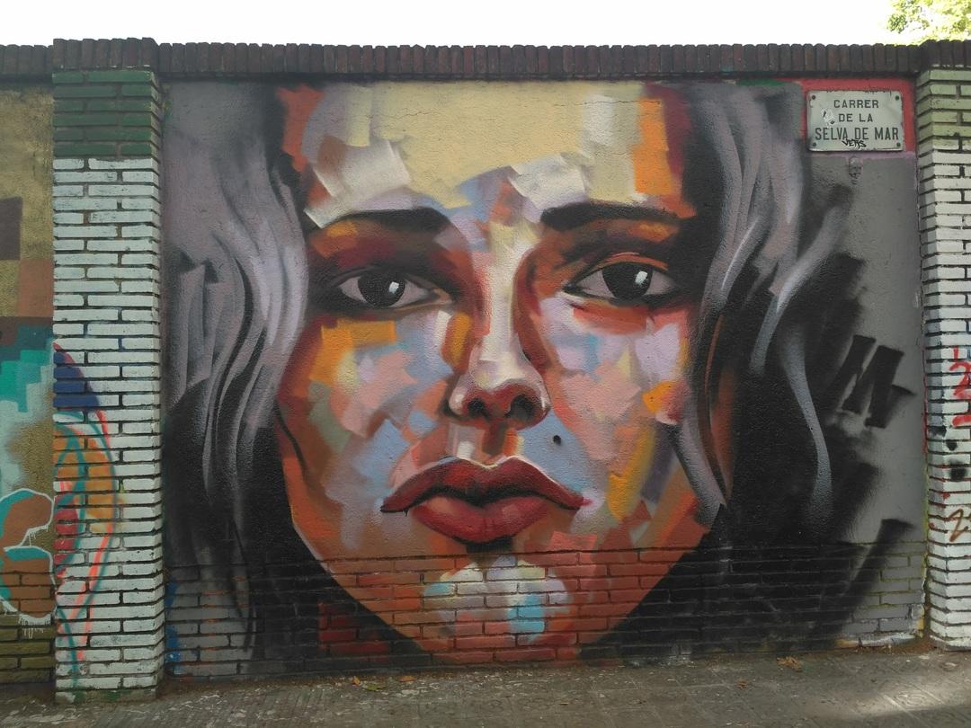 Wallspot - evalop - evalop - Projecte 07/09/2017 - Barcelona - Selva de Mar - Graffity - Legal Walls - Illustration