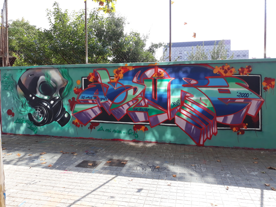 Wallspot - ABSURE2000 -  - Barcelona - Selva de Mar - Graffity - Legal Walls -
