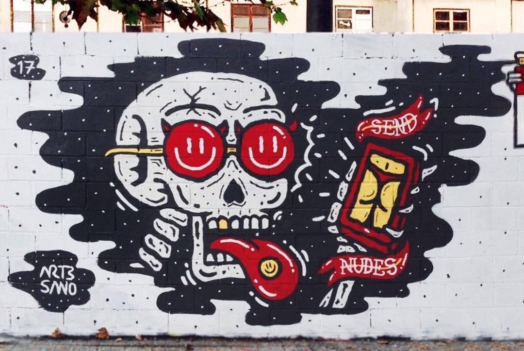 Wallspot - art3sano - Poble Nou - art3sano - Barcelona - Poble Nou - Graffity - Legal Walls - Letters, Illustration, Others