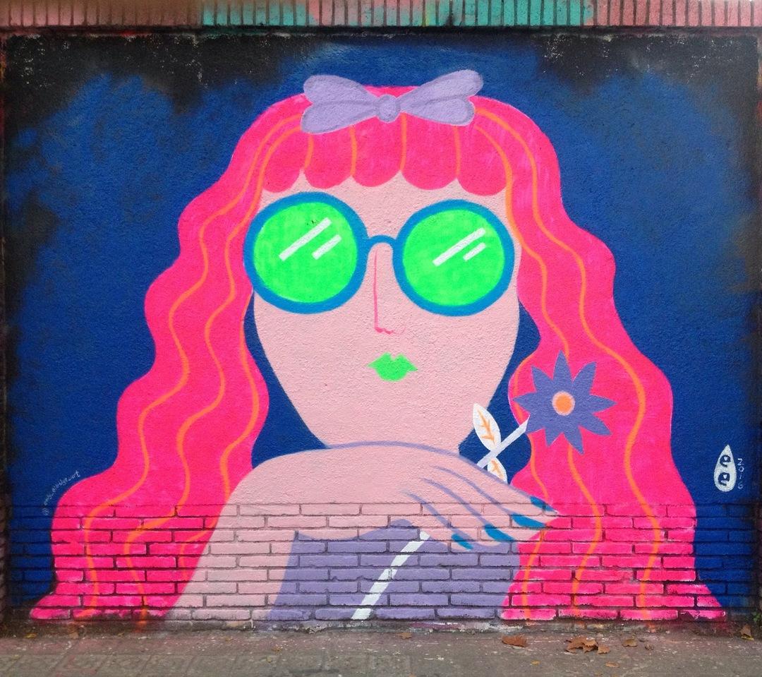 Wallspot - EmilyE - Agricultura - EmilyE - Barcelona - Agricultura - Graffity - Legal Walls - Illustration