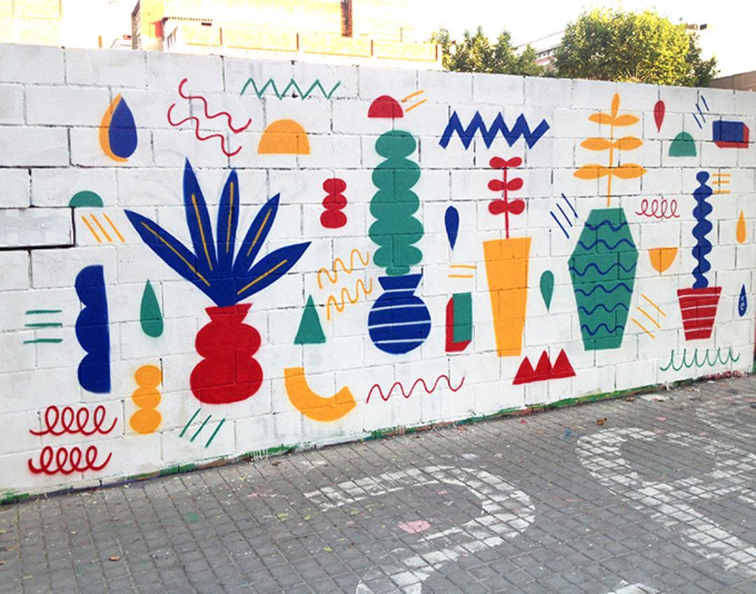 Wallspot - EmilyE - Poble Nou - EmilyE - Barcelona - Poble Nou - Graffity - Legal Walls -