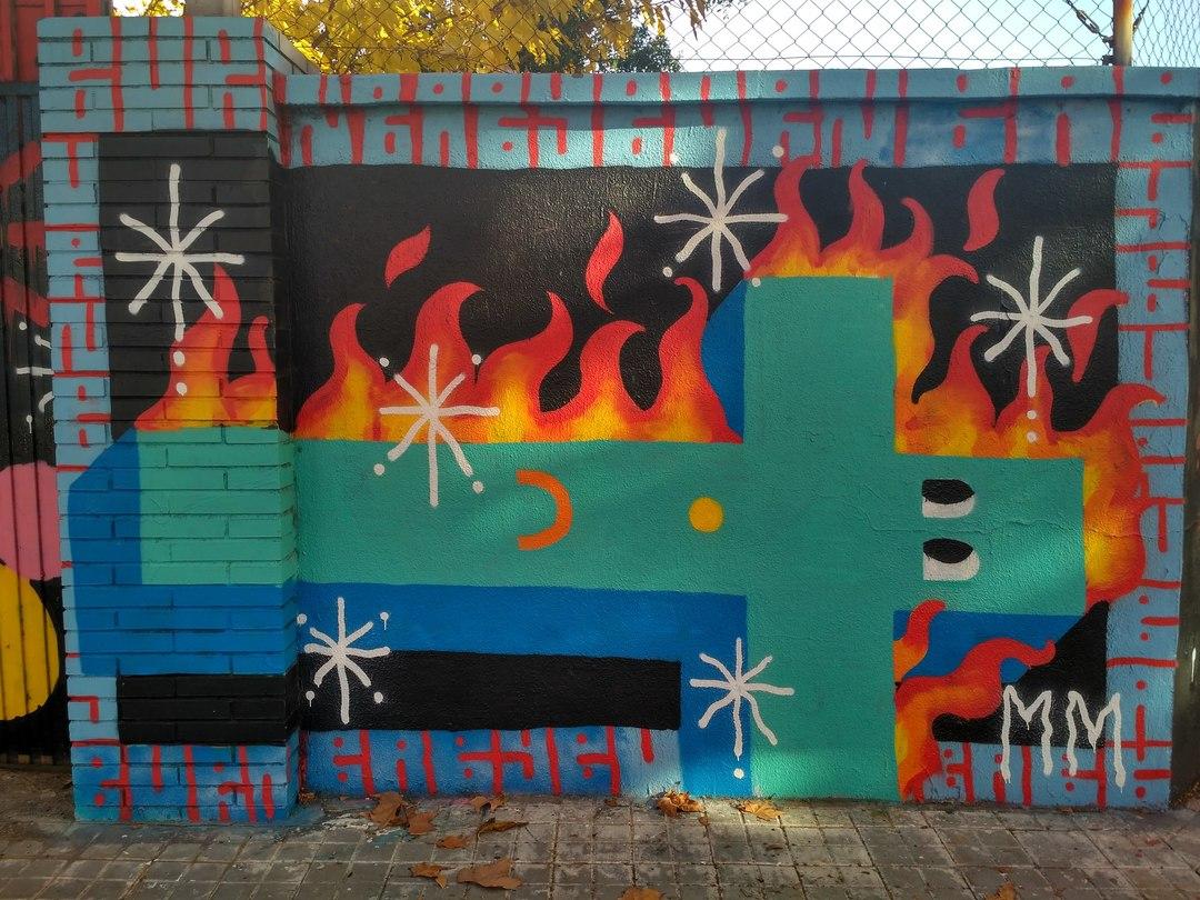 Wallspot - evalop - evalop - Projecte 16/12/2017 - Barcelona - Agricultura - Graffity - Legal Walls - Illustration