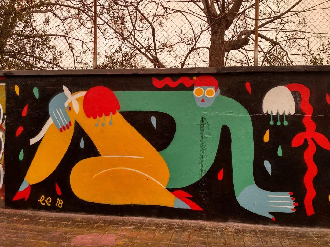 Wallspot - evalop - evalop - Proyecto 01/02/2018 - Barcelona - Agricultura - Graffity - Legal Walls - Ilustración - Artist - EmilyE