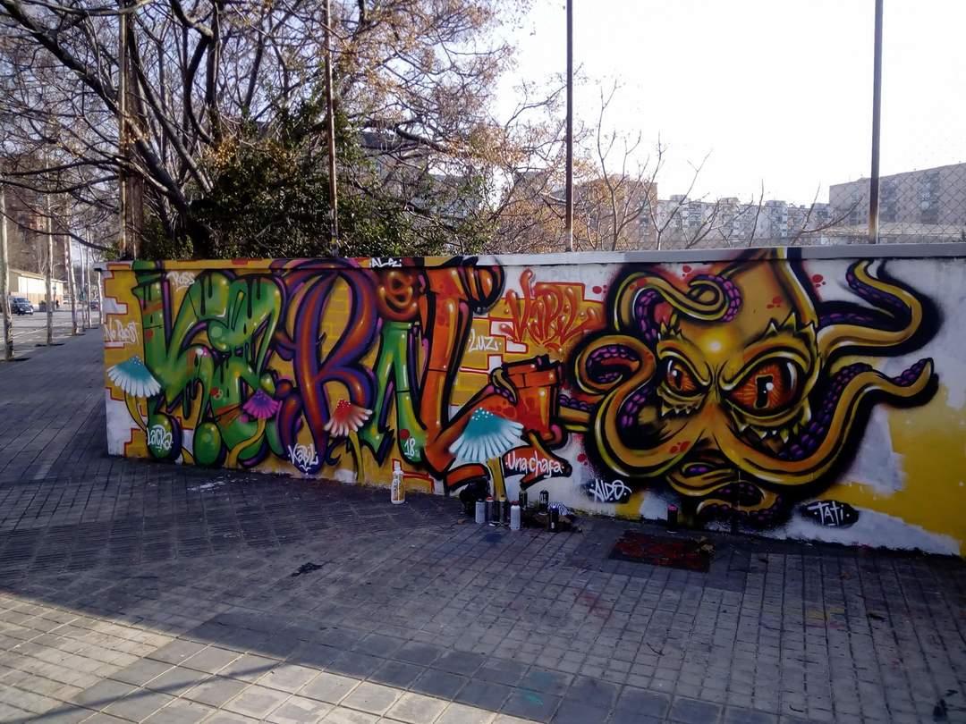 Wallspot - Libak! - Agricultura - Kabil! - Barcelona - Agricultura - Graffity - Legal Walls - Others