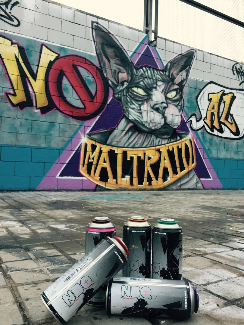"Wallspot - ANTON SEOANE ""ROKE"" - Drassanes - ROKE - Barcelona - Drassanes - Graffity - Legal Walls - Illustration"