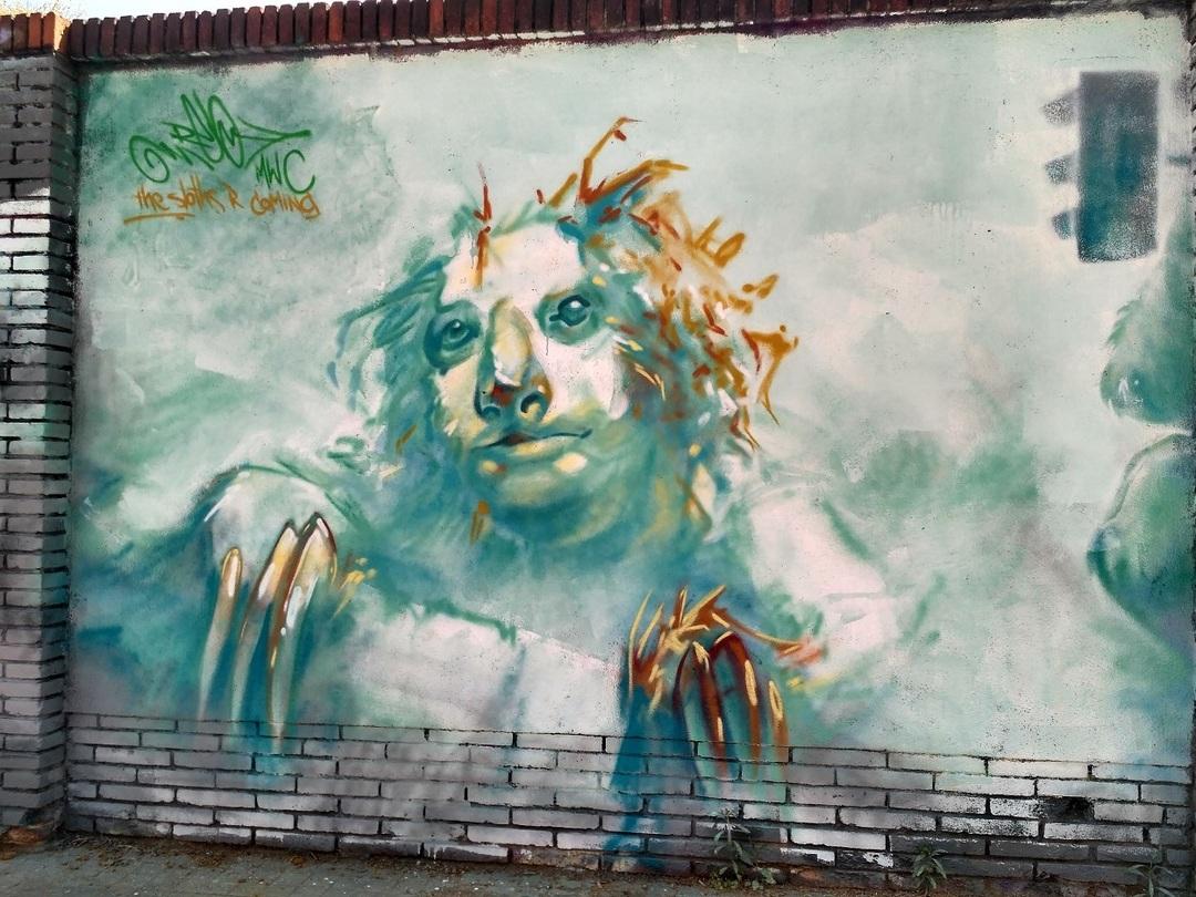 Wallspot - evalop - evalop - Proyecto 30/03/2018 - Barcelona - Selva de Mar - Graffity - Legal Walls - Ilustración