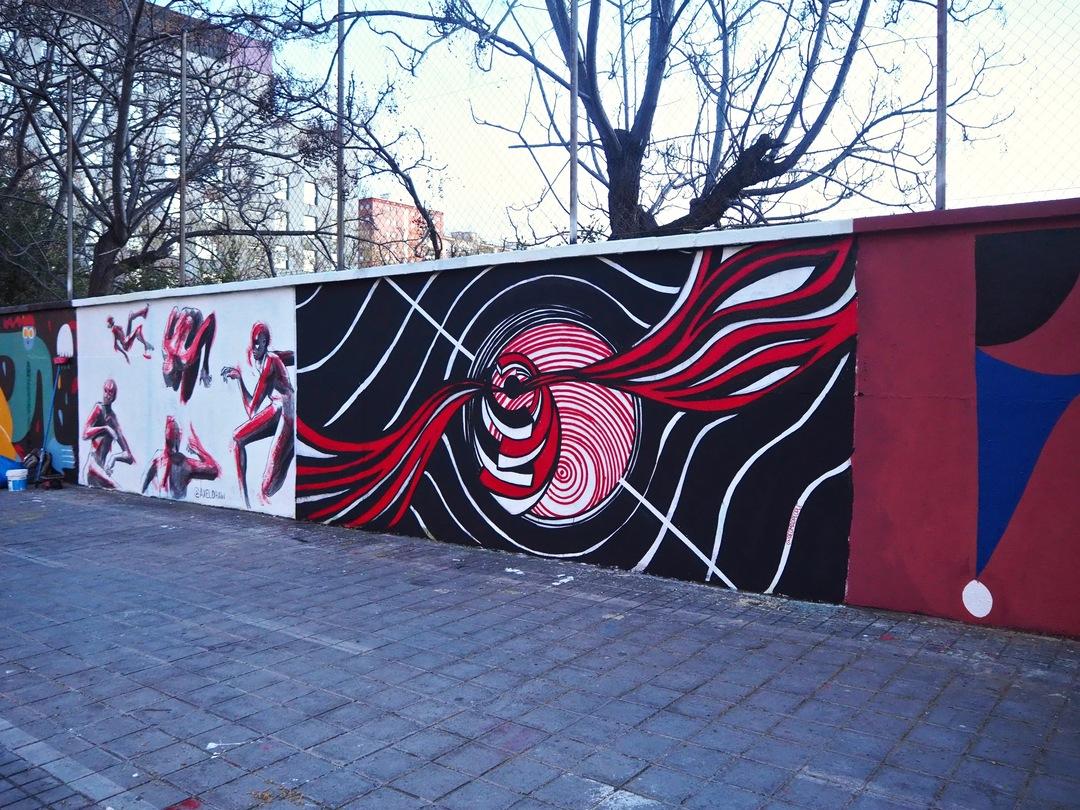 Wallspot - redmadpeople - Agricultura - redmadpeople - Barcelona - Agricultura - Graffity - Legal Walls - Ilustración, Otros