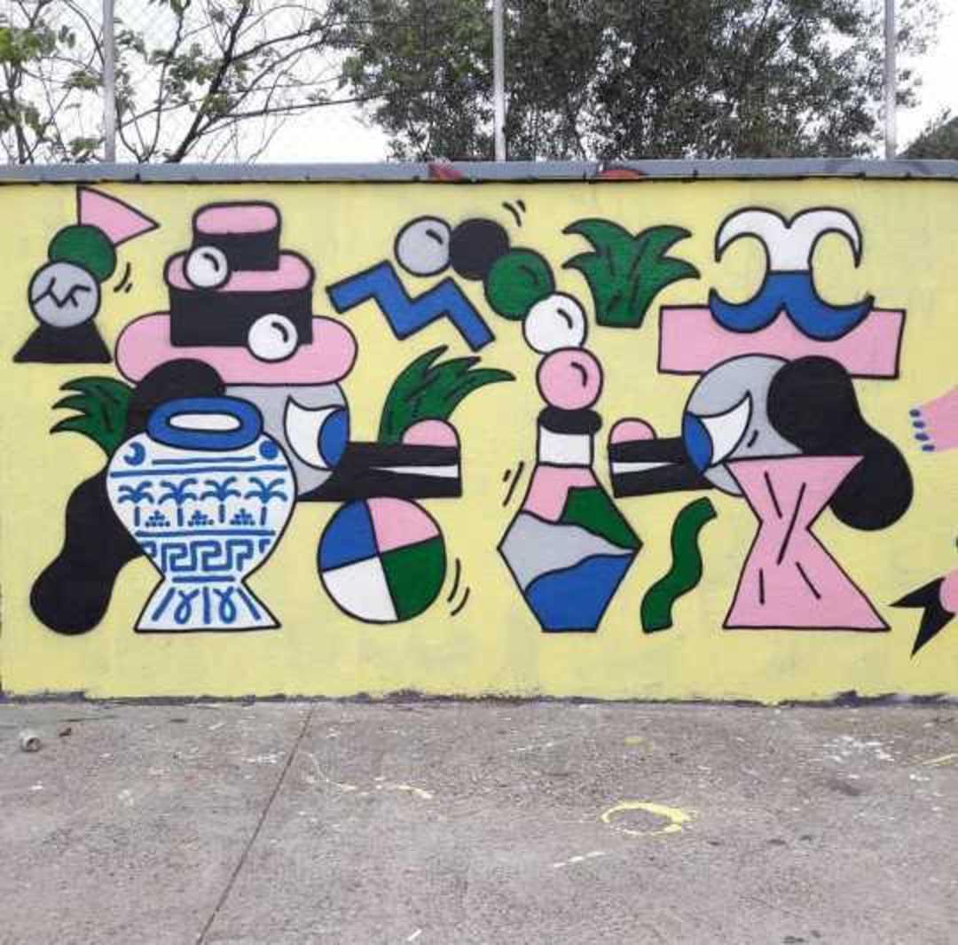 Wallspot - Osier Luther -  - Barcelona - Tres Xemeneies - Graffity - Legal Walls -