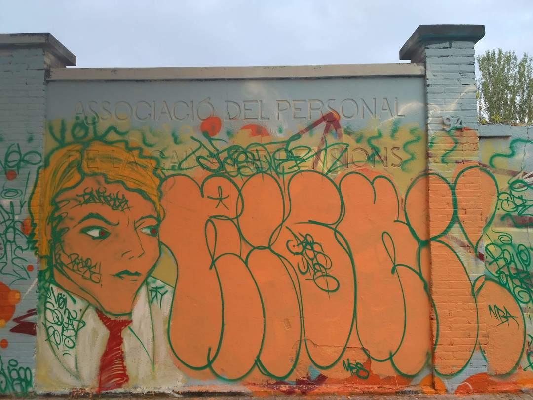 Wallspot - evalop - Keis- evalop - Project 17/05/2018 - Barcelona - Agricultura - Graffity - Legal Walls - Illustration