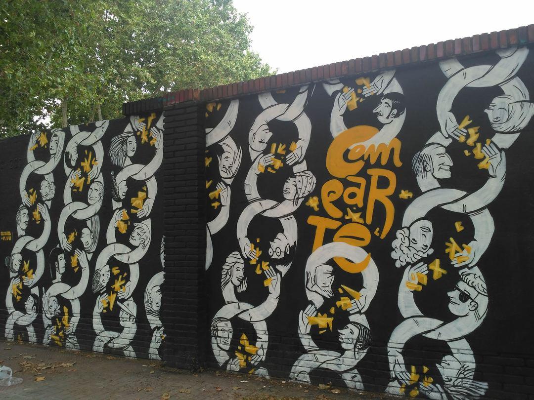 Wallspot - evalop - evalop - Project 05/06/2018 - Barcelona - Selva de Mar - Graffity - Legal Walls - Illustration - Artist - nsn997
