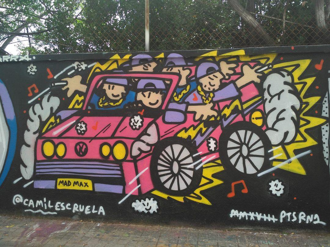 Wallspot - evalop - evalop - Proyecto 08/06/2018 - Barcelona - Agricultura - Graffity - Legal Walls - Ilustración - Artist - kamil escruela