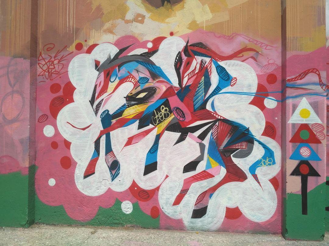Wallspot - evalop - evalop - Proyecto 08/06/2018 - Barcelona - Agricultura - Graffity - Legal Walls - Ilustración
