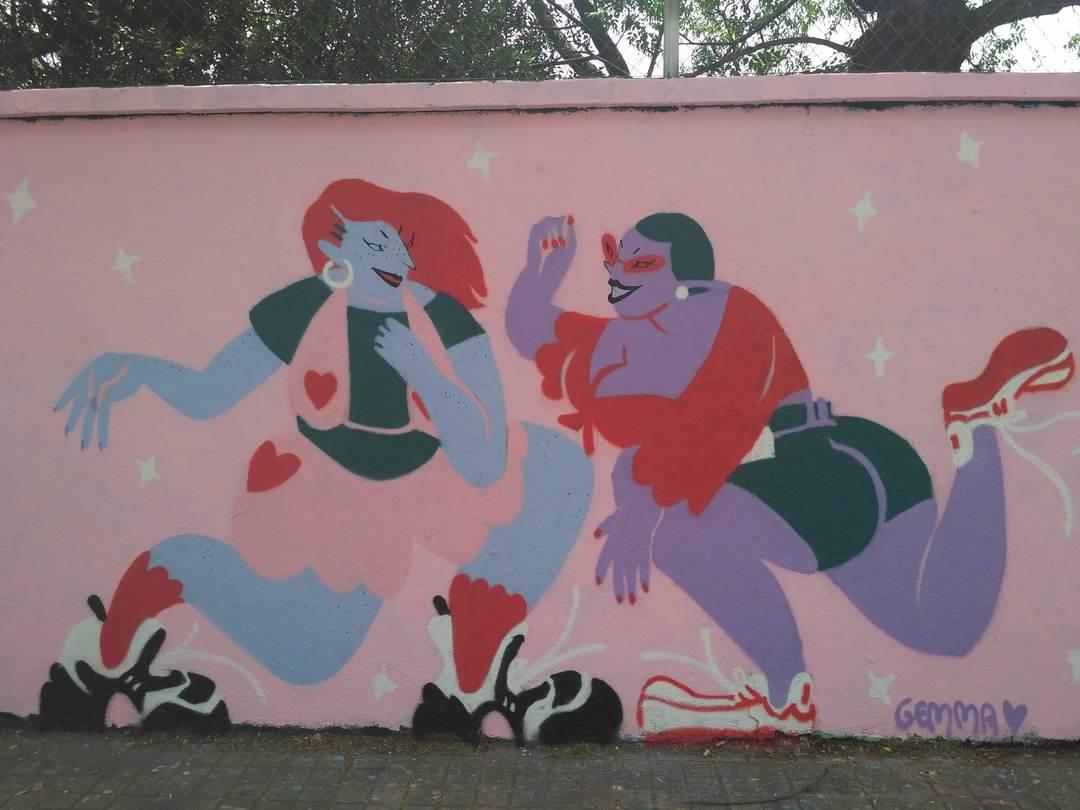 Wallspot - evalop - evalop - Proyecto 28/06/2018 - Barcelona - Agricultura - Graffity - Legal Walls - Illustration - Artist - gemfontanals