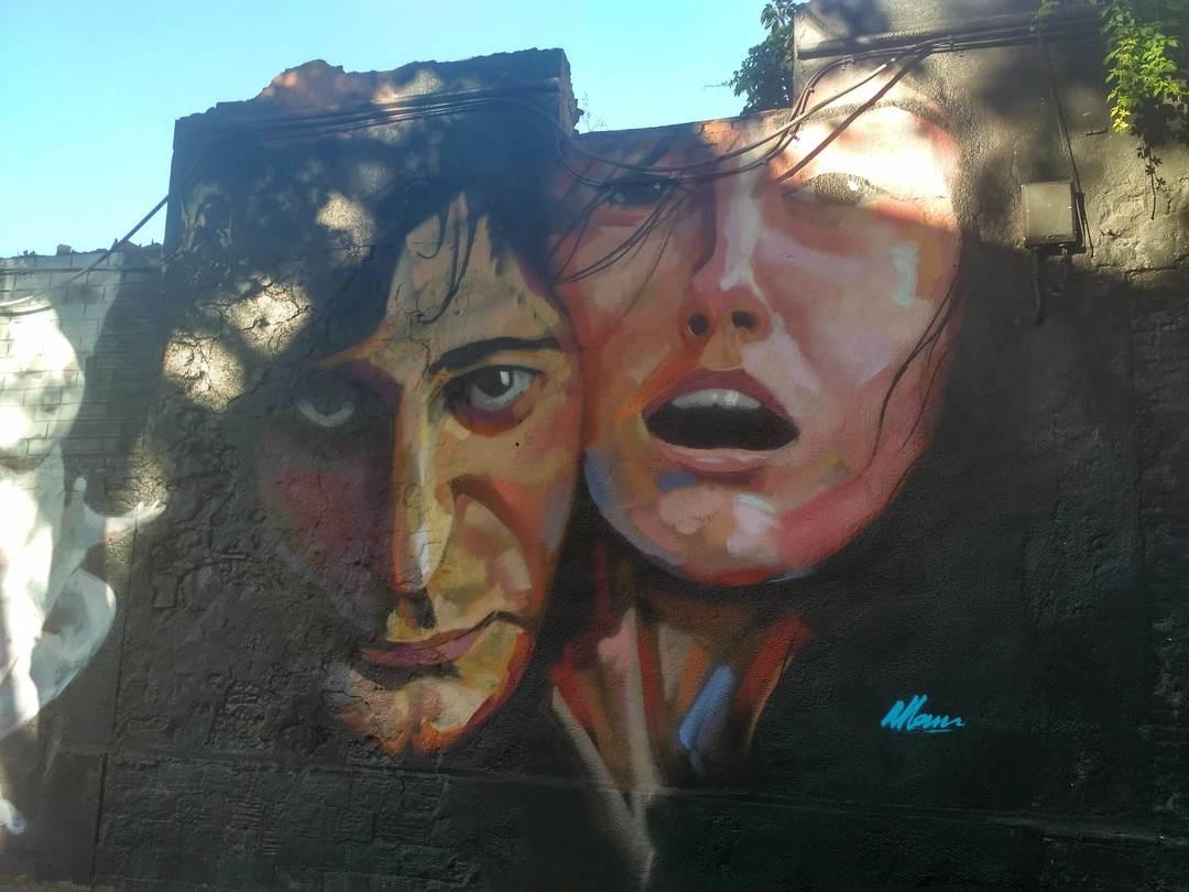 Wallspot - evalop - evalop - Project 04/07/2018 - Barcelona - Western Town - Graffity - Legal Walls - Illustration - Artist - elmanu