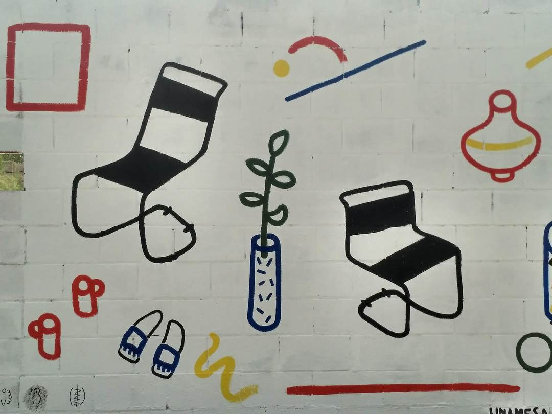 Wallspot - evalop - Elena Lopez Lanzarote - Barcelona - Poble Nou - Graffity - Legal Walls - Illustration