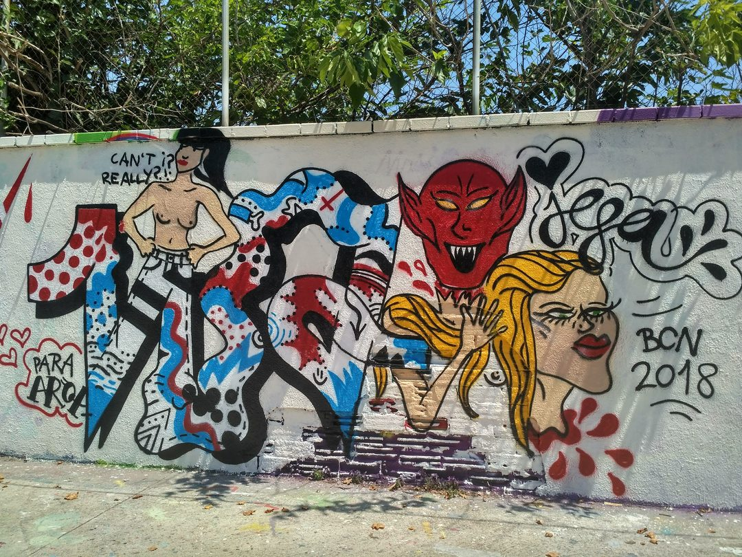 Wallspot - evalop - evalop - Project 13/07/2018 - Barcelona - Agricultura - Graffity - Legal Walls - Illustration