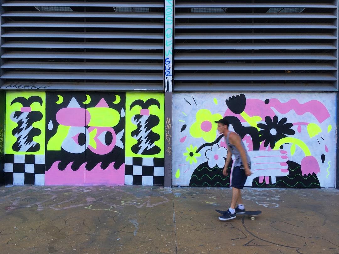 Wallspot - EmilyE - Tres Xemeneies - EmilyE - Barcelona - Tres Xemeneies - Graffity - Legal Walls - Illustration