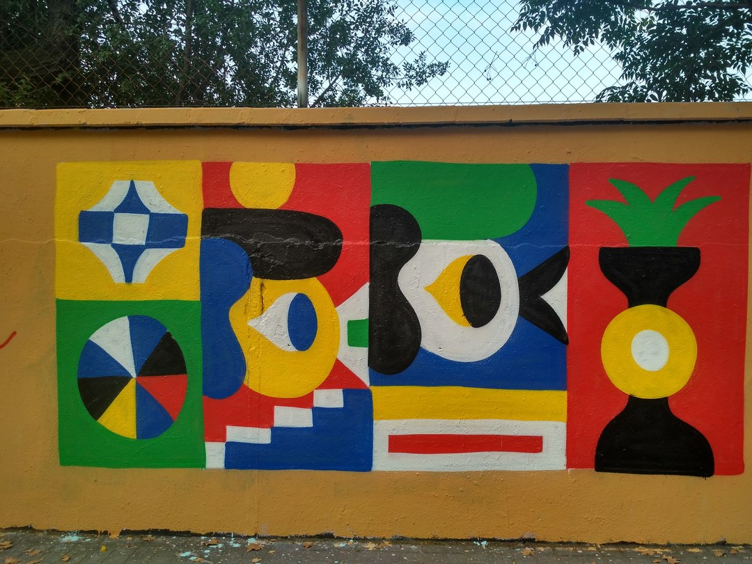 Wallspot - evalop - evalop - Project 03/08/2018 - Barcelona - Agricultura - Graffity - Legal Walls - Ilustración - Artist - Osier Luther