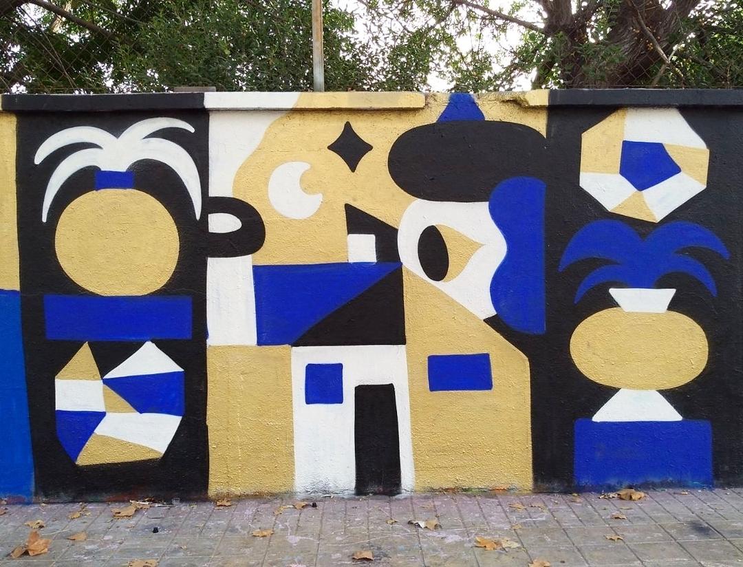 Wallspot - Osier Luther - <\3 - Barcelona - Agricultura - Graffity - Legal Walls - Ilustración