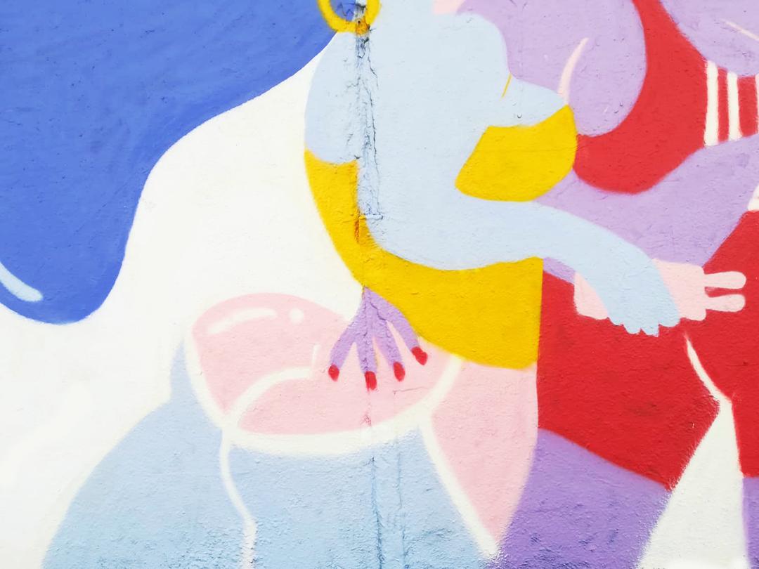 Wallspot - gemfontanals - Love Online - Barcelona - Agricultura - Graffity - Legal Walls - Illustration