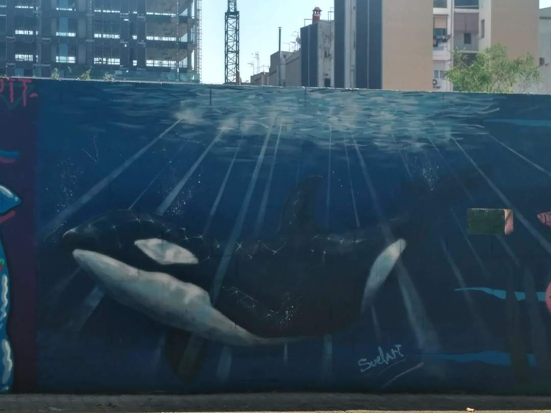 Wallspot - evalop - evalop - Proyecto 22/08/2018 - Barcelona - Poble Nou - Graffity - Legal Walls - Illustration