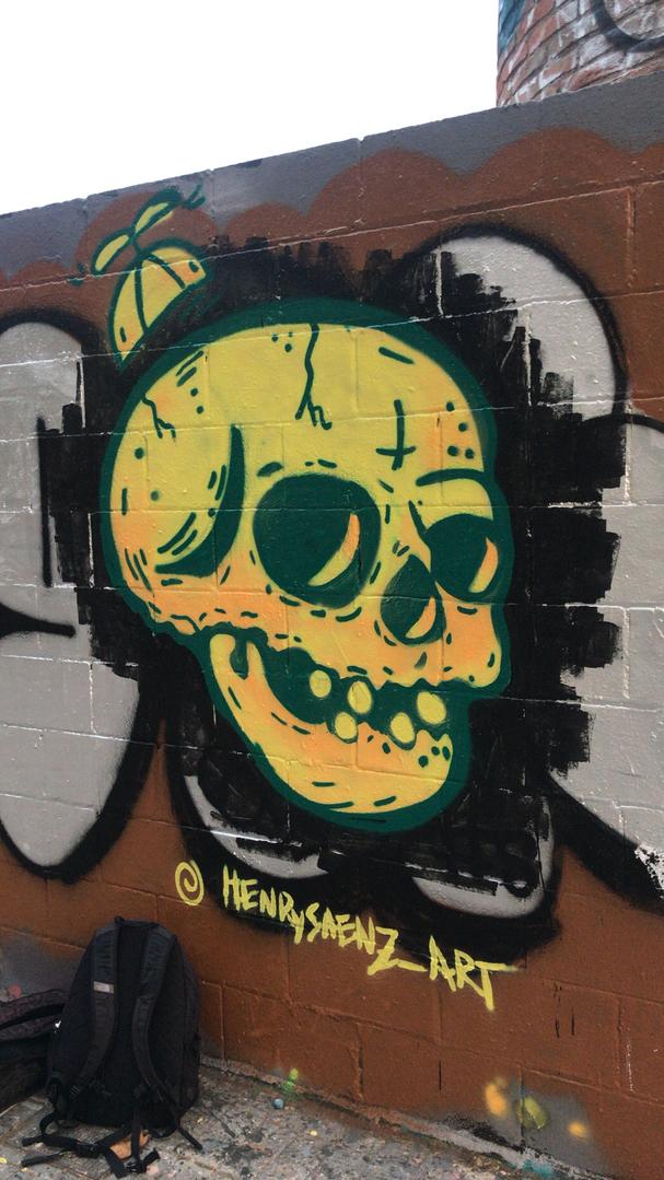 Wallspot - henrysaenz - Limón  - Barcelona - Poble Nou - Graffity - Legal Walls -