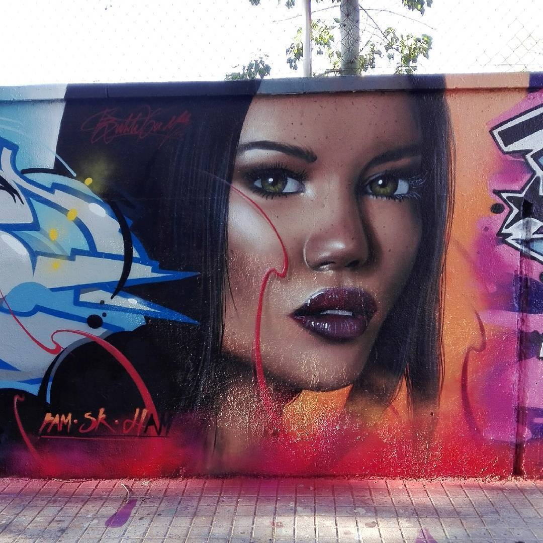 Wallspot - Bublegum - Agricultura - Bublegum - Barcelona - Agricultura - Graffity - Legal Walls - Illustration
