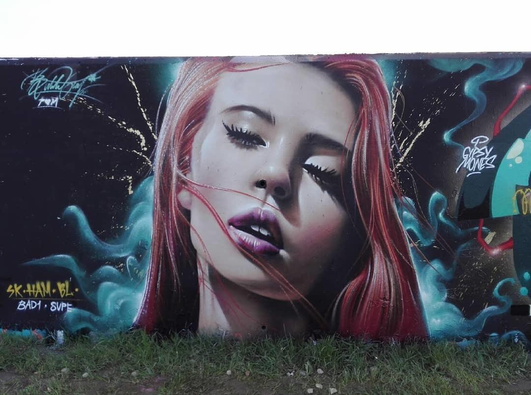 Wallspot - Bublegum - Forum beach - Bublegum - Barcelona - Forum beach - Graffity - Legal Walls - Illustration